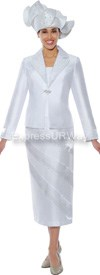 GMI G4742 White - Womens Church Suits