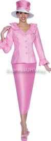 GMI G4902 Pink / White - Womens Church Suits