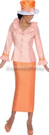 GMI G4902 Tangerine - Womens Church Suits