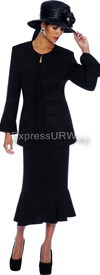 GMI G4933 Black - Womens Church Suits
