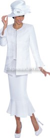 GMI G4933 White - Womens Church Suits