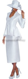 GMI G4973 White - Womens Church Suits