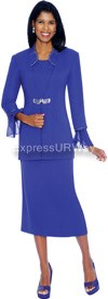 Clearance GMI G4993 Royal - Womens Church Suits