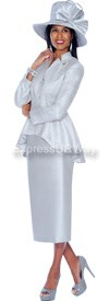GMI G5122 Silver - Womens Church Suits