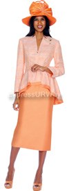 GMI G5122 Tangerine - Womens Church Suits