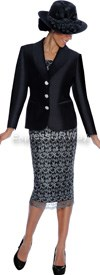 Clearance GMI G5972 Black - Womens Church Suits