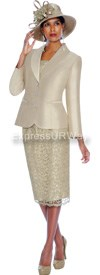 Clearance GMI G5972 Champagne - Womens Church Suits