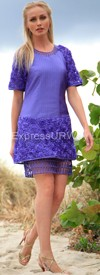 JSong 1110 Purple Womens Suit