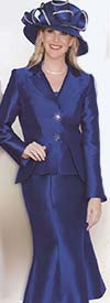 Clearance Lily and Taylor 3633 Ladies Silky Twill Church Suit