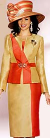 Lily and Taylor 3716 Womens Dual-Tone Suit