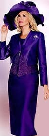 Lily and Taylor 3723 Rhinestone Embellished Womens Suit