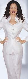 Lily and Taylor 3760 Two Piece Silky Twill Pant Suit
