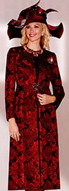 Lily and Taylor 3764 Lace Duster & Silky Twill Skirt Suit