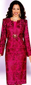 Lily and Taylor 3774 Womens Lace Skirt Suit