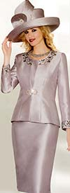 Lily and Taylor 3800 Ladies Rhinestone Embellished Church Suit