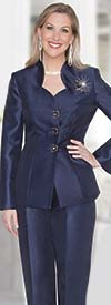 Clearance Lily and Taylor 3760 Womens Silky Twill Pant Suit