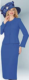 Lily and Taylor 2920 - Two Piece Skirt Suit For Church