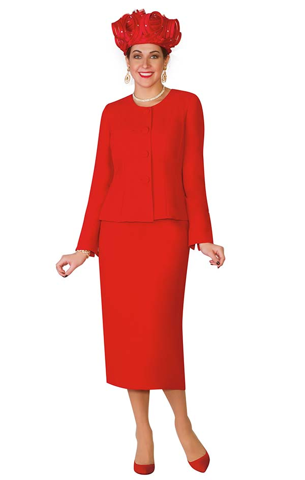 Lily and Taylor 2920 - Two Piece Poly Crepe Womens Skirt Suit