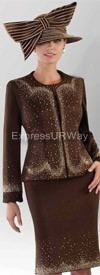 Liorah Knits 7072 Womens Knit Suits
