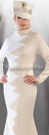 Liorah Knits 7110 Womens Knit Suits