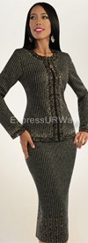Clearance Liorah Knits 7078 Womens Knit Suits
