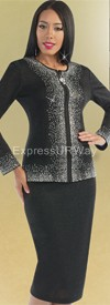 Clearance Liorah Knits 7136 Womens Knit Suits