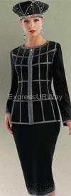 Liorah Knits 7137 Womens Knit Suits