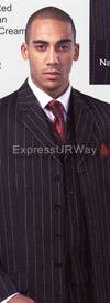 Longstry New York 26073V Mens Suit 