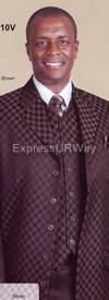 Longstry New York 2910V Mens Suit 