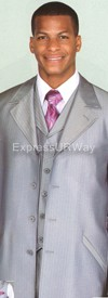 Longstry New York 2912V Mens Suit 