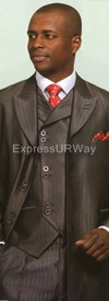 Longstry New York 5264V Mens Suit 