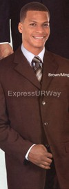 Longstry New York 802WP Mens Suit 