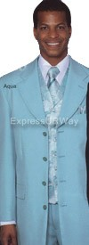 Clearance Longstry New York 6903V Mens Suit