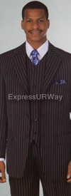 Longstry New York 5802V Mens Suit 