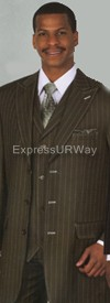 Longstry New York 5903V Mens Suit