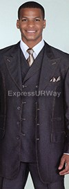 Clearance Longstry New York 5608V Mens Suit