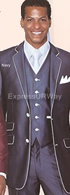 Clearance Longstry New York 5702V1 Mens Suit