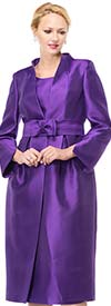 Moshita 6712 Womens Pleated Jacket Skirt Set