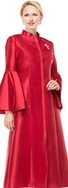 Moshita 6915 - Womens Fluted Cuff Robes For Church