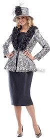 Moshita 6444 Womens Church Suits