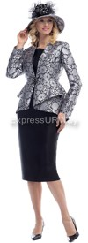 Moshita 6446 Womens Church Suits