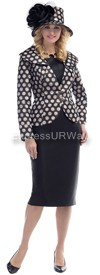 Moshita 6447 Womens Church Suits