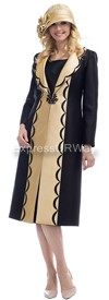 Moshita 6452 Womens Church Suits