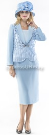 Moshita 6408 Womens Church Suits