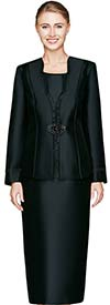 Clearance Nina Massini 2467 Three Piece Womens Skirt Suit For Church