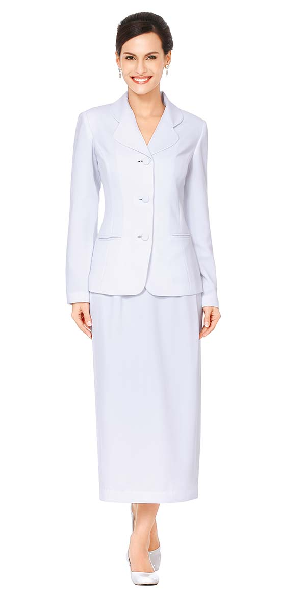 Nina Massini 3288 Womens Church Suit With Clover Lapels