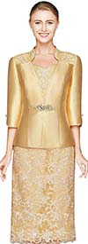 Nina Nischelle 2820 Lace Dress & Silky Twill Jacket Set
