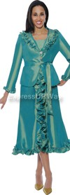 Nubiano Dresses DN5352 - Green