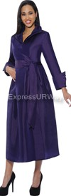 Clearance Nubiano Dresses DN5371 - Purple