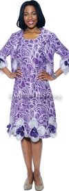 Nubiano Dresses DN5422 - Purple